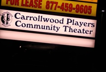 Interior/Exterior of Carrollwood Players Theatre