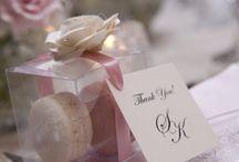 Idea segnaposto matrimonio ringraziamento