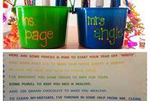 Teacher gift ideas / by Kati Corso