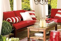 Porch ideas / by Debbie Thompson