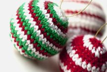 Crochet for Christmas / Crochet for the Christmas season including ornaments, decorations, trees, stars and more. / by The Crafty Mummy