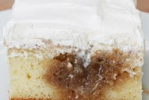 Cinnamon poke cake