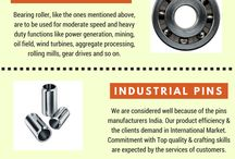 Bearing Roller Exporters / SKP Bearings Industry is the leading bearing roller exporters. We are also manufacturing needle roller bearings, cylindrical rollers, bearing rollers India.
