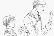 Levi x Erwin