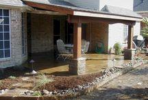 Patio, porch and yard designs