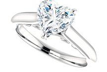 Moissanite Engagement Rings / Forever Brilliant Moissaanite engagement rings and Forever One Moissanite Engagement Rings at GerryTheJeweler.com