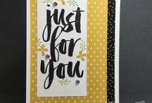 Stampin' UP! 2016 Sale-A-Bration / cards and projects featuring products from the 2016 Stampin' UP! Sale-A-Bration catalog.