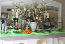 buffet decor / by Gilda Woods