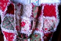 Rag Quilt square bags