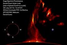 Solar Prominences, Filaments, Loops & Active Regions