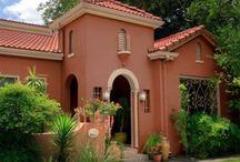 Exterior paint house