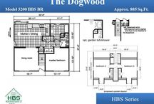 HBS Series Bonus Ranch / Bonus Ranch floor plans