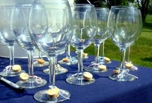 Wine Glass Charms / Wine charms serve as an elegant glass identifier, and will bring a touch of bling to any tabletop. These quick and simple wine charms also make fun and creative party favors, so your guests will always have a reminder of their wonderful evening.