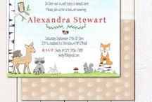 woodland animal party