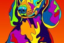 honden schilderijen
