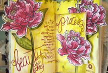 Art Journaling Love: Flowers and Nature / by Crafty Lou