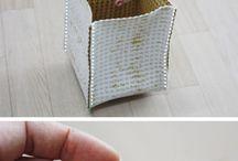 Uložný box - šitie