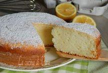 torta albumi ricotta e limone