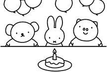 tekeningen verjaardag