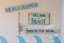Beach decor ideas / Things I'd like to do for my room!