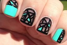transparent#nails