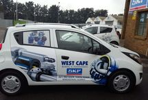 Vehicle Branding - work done by KDS / WCBT vehicle branding project