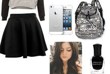 School outfits for middle school