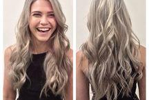 Ash beige grey blonde