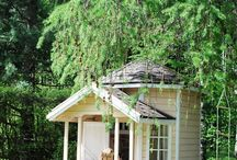 playhouse / sandbox / kids garden