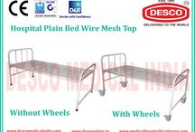 Wire Mesh Base Bed Suppliers India / DESCO is providing wire mesh base bed in India at low price. Frame work of bed is made of rectangular/round tube.