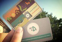 Cartes de visite - Business card  / Ma sélection de jolies cartes de visite