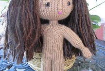 knitted dolls & Clothes