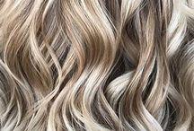 metalic hair