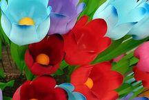 Flores Reciclado