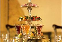 Dessert Collation / Food and dining 18th century style
