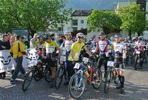 Triathlons und Marathons im Vinschgau / Die Region Vinschgau mit mediteranem Klima im Tal einerseits und hohen Berggipfeln von bis 3000m Seehöhe anderseits, bietet beste Bedingungen verschiedene Marathons und Triathlons.