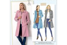 Wintercoat sewing patterns & fabrics