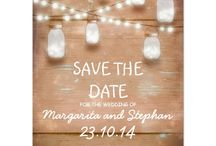 """Save The Date / Chic """"Save The Date"""" ideas to let everyone know you're tying the knot!"""