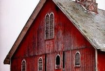 Barns and collapsing buildings