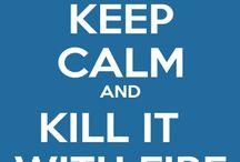 Keep calm... and do stuff