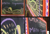 My little black board! / 1 little black board, 6 colourful chalks and EPIC designs!