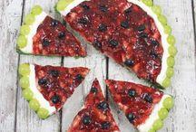 Decorative custard/crust pie/ crostate decorative