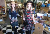 Our Fashions Around Town / Enjoy viewing our fashions around downtown Bay City, Michigan. Get a peek at some of our great local businesses. If you are out on the town wearing our fashions send me a pic and I will add you to our board. Terri at secretgardenbc@yahoo.com