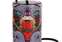 Vertical Tube - Sleepless Nights / Women Leather Handbags, Limited Edition Designer Leather Bag COLOURS OF MY LIFE - Limited Edition wearable art signed by Anca Stefanescu.