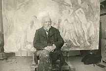 Cezanne, impressionist.