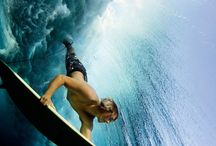 Underwater Surf Photos - Surfing from a fish eye view / A beautiful collection of underwater surfing photographs
