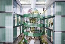 Ressource Center by Lendager Arkitekter / The architectural visuals for Ressource Center by Lendager Arkitekter. Images were created in 2015.