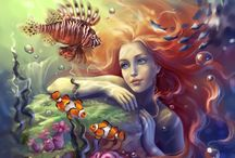 mermaids / by Sophia Shannon