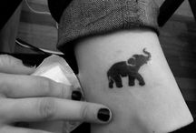 elefant tatueringar