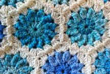 Crochet Afghans:  Granny Square / by Joan Nicholes